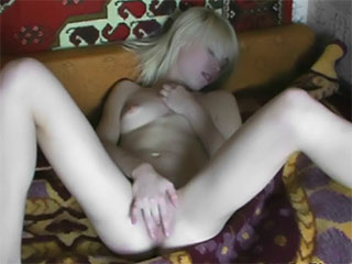 Barely legal blonde amateur gets pussy filled from Private Teen Video